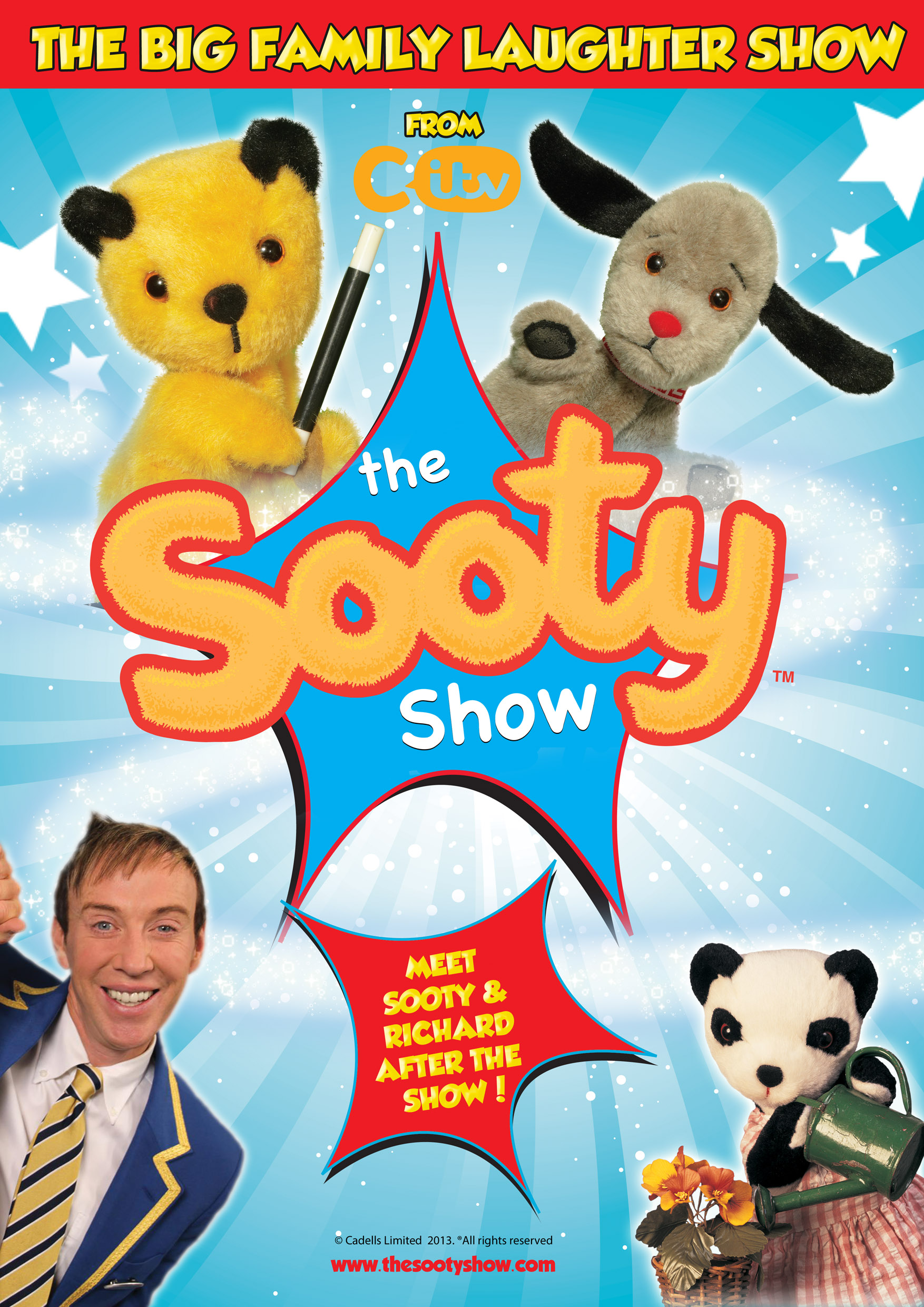 Sooty brochure and website image