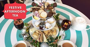 Festive Afternoon Tea - available for a limited time only!
