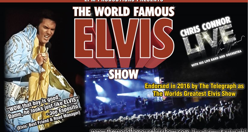 The World Famous Elvis Show 2018