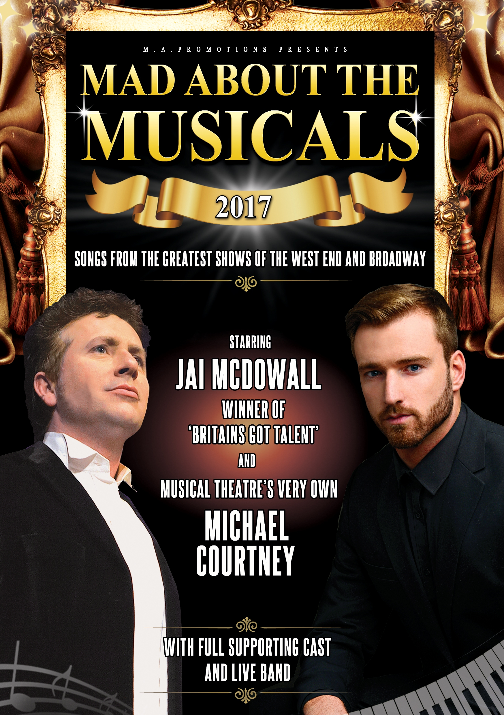 MAD ABOUT THE MUSICALS WHATS ON