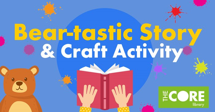 Bear-tastic Story & Craft Activity