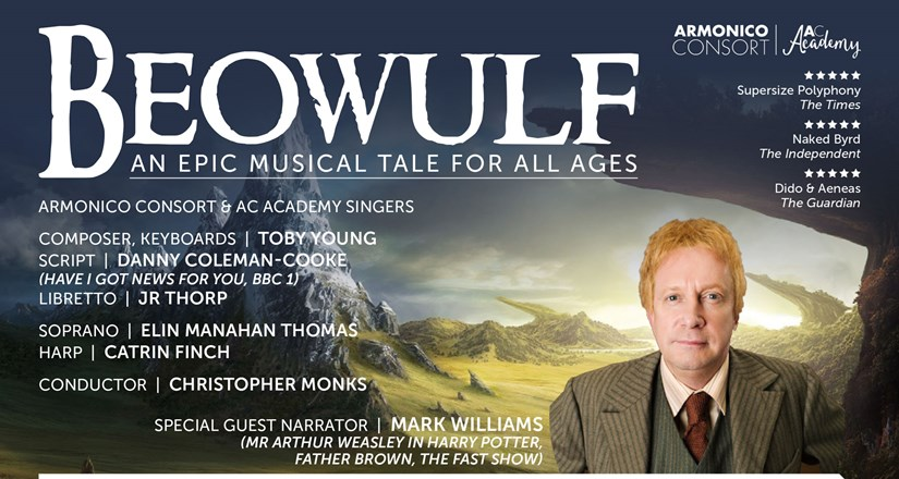 Armonico Consort presents Beowulf in partnership with Solihull Music Service