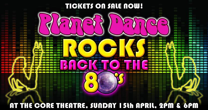 Planet Dance Rocks Back to the 80s