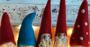 Felting Workshop - Christmas Gnome
