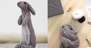 Needle Felting Workshop at Easter