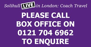 SMS Live in London: COACH TICKET