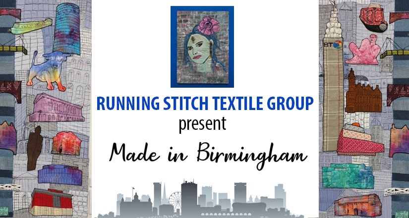 """Made in Birmingham"" by Running Stitch"