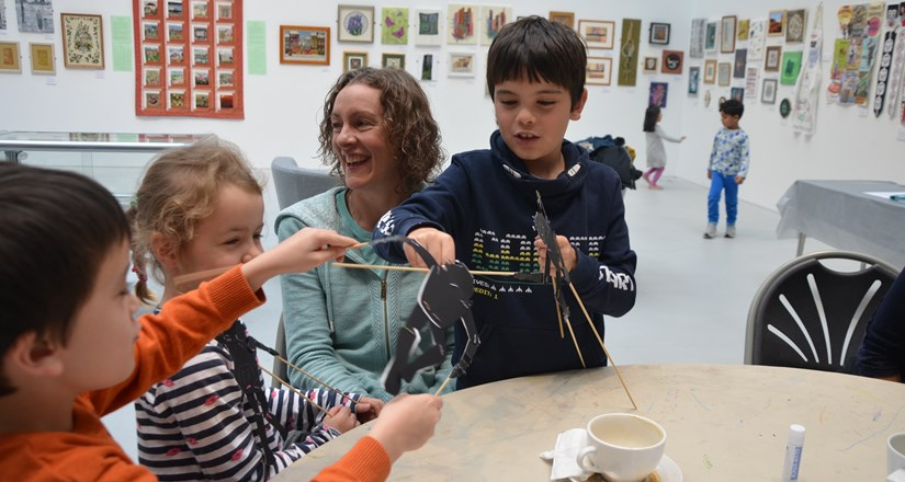 Family Art Workshops