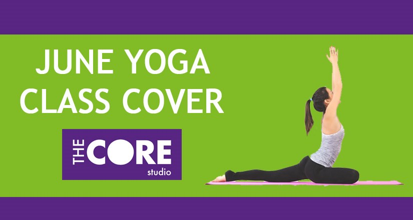 Yoga Class Cover - June