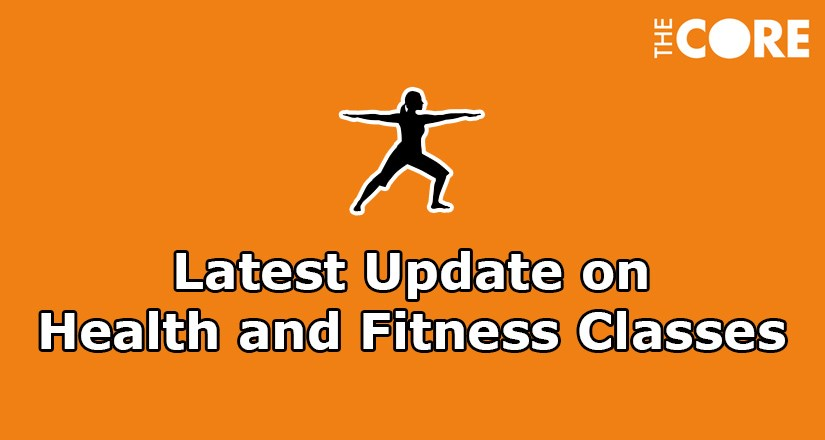 Update on Health & Fitness Classes